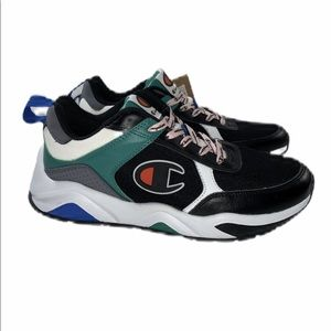 NWT Champion 93Eighteen Colorblock Sneakers Green
